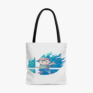 Ness Super Smash Bros Custom Personalized Tote Bag Polyester with Small Medium Large Size