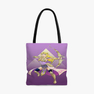 Princess Zelda The Legend of Zelda Custom Personalized Tote Bag Polyester with Small Medium Large Size
