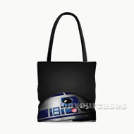 R2 D2 Star Wars Custom Personalized Tote Bag Polyester with Small Medium Large Size
