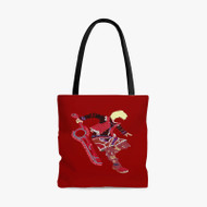 Shulk Xenoblade The Super Smash Bros Custom Personalized Tote Bag Polyester with Small Medium Large Size