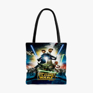 Star Wars The Clone Wars Characters Custom Personalized Tote Bag Polyester with Small Medium Large Size
