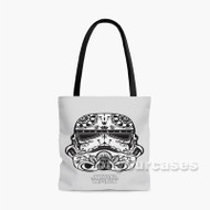 Stormtrooper Star Wars Custom Personalized Tote Bag Polyester with Small Medium Large Size