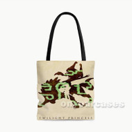 The Legend of Zelda Twilight Princess Custom Personalized Tote Bag Polyester with Small Medium Large Size