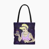 Cinderella Gothic Disney Custom Personalized Tote Bag Polyester with Small Medium Large Size