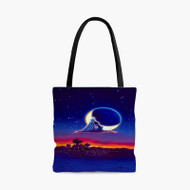 Classic Aladdin and Jasmine Custom Personalized Tote Bag Polyester with Small Medium Large Size
