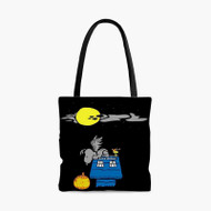 Doctor Who The Peanuts Custom Personalized Tote Bag Polyester with Small Medium Large Size