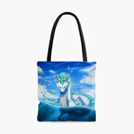 Dragon Haku Spirited Away Custom Personalized Tote Bag Polyester with Small Medium Large Size