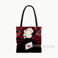 Fullmetal Alchemist Brotherhood Edward Elric Custom Personalized Tote Bag Polyester with Small Medium Large Size