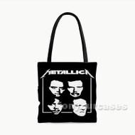 Metallica Custom Personalized Tote Bag Polyester with Small Medium Large Size