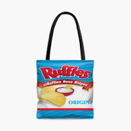 Ruffles Original Custom Personalized Tote Bag Polyester with Small Medium Large Size