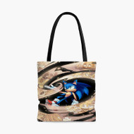 Sonic The Lost Hedgehog Tales Custom Personalized Tote Bag Polyester with Small Medium Large Size