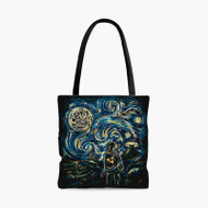 The Legend of Zelda Starry Night Custom Personalized Tote Bag Polyester with Small Medium Large Size