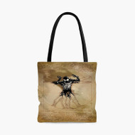 Vitruvian Spiderman Custom Personalized Tote Bag Polyester with Small Medium Large Size