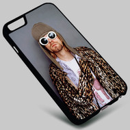 Kurt Cobain Nirvana 1 on your case iphone 4 4s 5 5s 5c 6 6plus 7 Samsung Galaxy s3 s4 s5 s6 s7 HTC Case