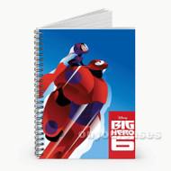 Disney Big Hero 6 Custom Personalized Spiral Notebook Cover
