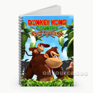 Donkey Kong Country Return Custom Personalized Spiral Notebook Cover