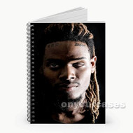 Fetty Wap Custom Personalized Spiral Notebook Cover