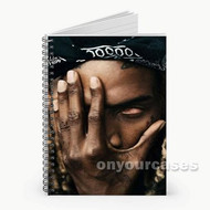 Fetty Wap Face Custom Personalized Spiral Notebook Cover