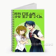 Gekkan Shoujo Nozaki kun Angry Custom Personalized Spiral Notebook Cover