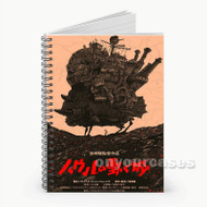 Howls Moving Castle Original Custom Personalized Spiral Notebook Cover
