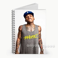 Kid Ink Tattoo Custom Personalized Spiral Notebook Cover