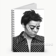 Louisahhh DJ Custom Personalized Spiral Notebook Cover