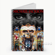 Michael Jackson Dangerous Custom Personalized Spiral Notebook Cover