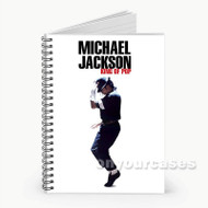 Michael Jackson King of Pop Custom Personalized Spiral Notebook Cover