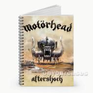 Motorhead Aftershock Custom Personalized Spiral Notebook Cover