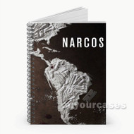 Narcos Movie Custom Personalized Spiral Notebook Cover