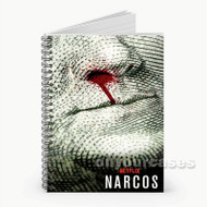 Narcos Movie from Netflix Custom Personalized Spiral Notebook Cover