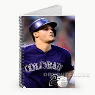 Nolan Arenado Colorado Rockies Custom Personalized Spiral Notebook Cover