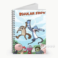 Regular Show Custom Personalized Spiral Notebook Cover