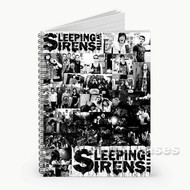Sleeping With Sirens Custom Personalized Spiral Notebook Cover