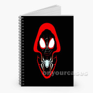 Spider Verse Custom Personalized Spiral Notebook Cover