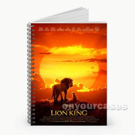 The Lion King Custom Personalized Spiral Notebook Cover