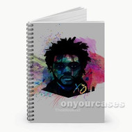 The Weeknd Custom Personalized Spiral Notebook Cover