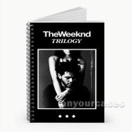 The Weeknd Trilogy Custom Personalized Spiral Notebook Cover