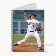 Zack Greinke LA Dodgers Baseball Custom Personalized Spiral Notebook Cover