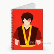 Zuko Avatar The Last Airbender Custom Personalized Spiral Notebook Cover