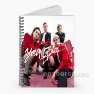 5sos Custom Personalized Spiral Notebook Cover