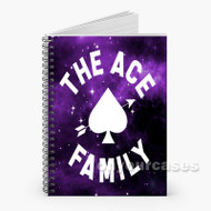 ace family Custom Personalized Spiral Notebook Cover