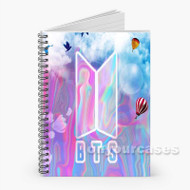 BTS 2 Custom Personalized Spiral Notebook Cover