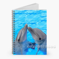 dolphin Custom Personalized Spiral Notebook Cover