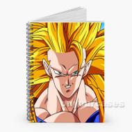 goku ssj 3 Custom Personalized Spiral Notebook Cover