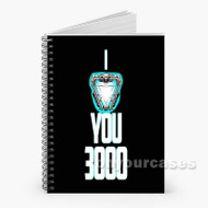 Iron Man I Love You 300 Custom Personalized Spiral Notebook Cover