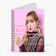 lisa blackpink Custom Personalized Spiral Notebook Cover