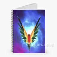 logan paul nebula Custom Personalized Spiral Notebook Cover