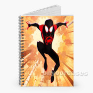 Marvel Spider Man Into the Spider Verse Custom Personalized Spiral Notebook Cover