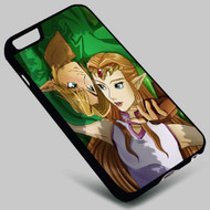 Link and Zelda Love on your case iphone 4 4s 5 5s 5c 6 6plus 7 Samsung Galaxy s3 s4 s5 s6 s7 HTC Case